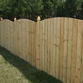 Wood fence - Most frequent fence materials ...